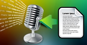 English Transcription for Voice-over